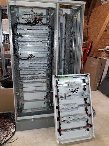 Précâblages d'armoires électriques
